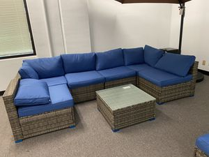 Brand New 7 Piece Outdoor Patio Furniture Set for Sale in Fullerton, CA