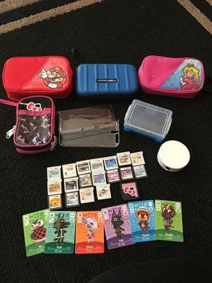 Nintendo d's & 3ds games. Protective cases. for Sale in Phoenix, AZ