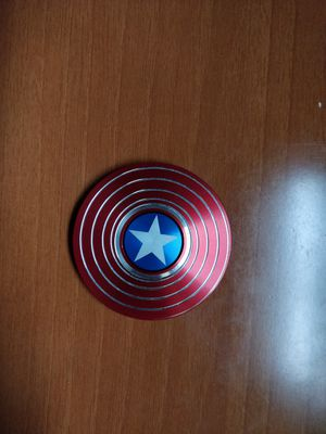 Metal Captain America figet spinner for Sale in Brooklyn, NY