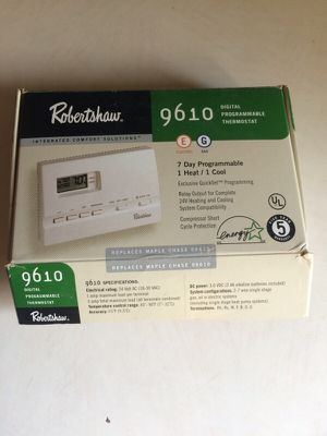 New in box programmable thermostat for Sale in Zelienople, PA
