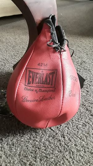 Everlast speed bag for Sale in Manor, TX