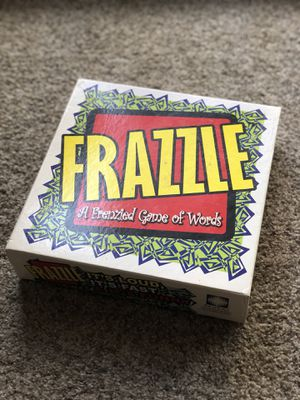Frazzle board word game for Sale in Broomfield, CO