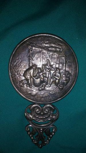 Small silver antique mirror for Sale in Phoenix, AZ