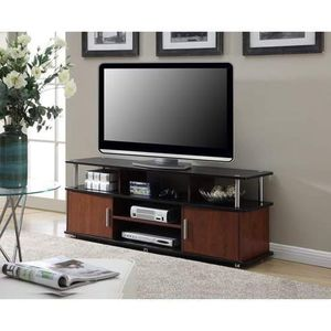 """TV STAND UP TO 50"""" ASSEMBLED HAS MINOR DENT 59""""L x 15.75""""W x 22.25""""H for Sale in Fort Worth, TX"""