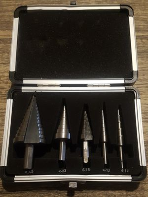 Neiko metric step drill bit set for Sale in Buckhannon, WV