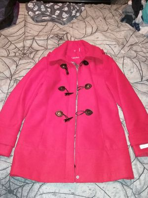 Red Calvin Klein coat NWOT size M for Sale in Virginia Beach, VA