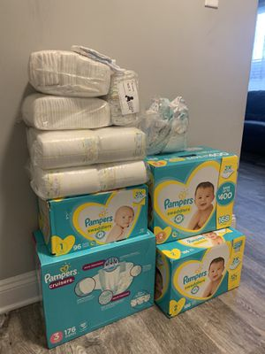 Diapers Size 1-3 for Sale in Alexandria, VA