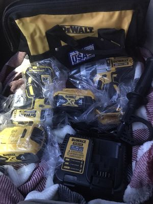 Hamerdrill/impact driver 2 batteries and charger $225 for Sale in Amarillo, TX