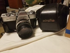 Minolta srt 100 film camera. Comes with original case and 4 lenses for Sale in Philadelphia, PA