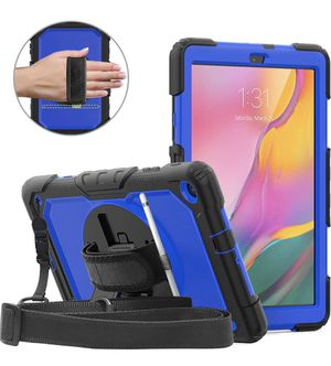 DUNNO Case for Samsung Galaxy Tab A 10.1 Inch 2019(SM-T510/T515) (Black/Blue) for Sale in Los Angeles, CA