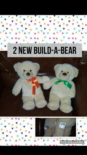 New Set of 2 Teddy Bear Build a Bear Plush for Sale in Kansas City, MO