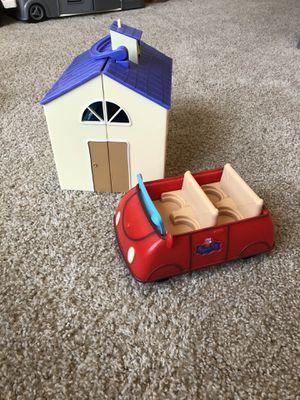 Peppa Pig Schoolhouse and Car for Sale in Atlanta, GA