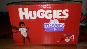 Box huggies little movers #4 for Sale in Glenarden, MD