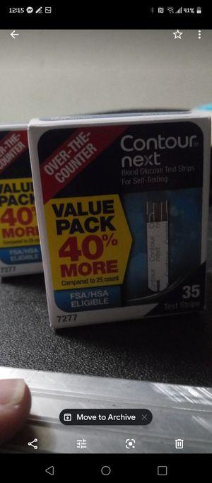 Contour next diabetic test strips for Sale in West Los Angeles, CA