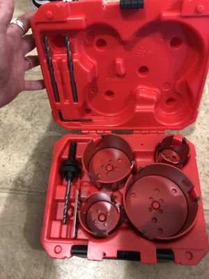 Milwaukee big hang drill bits for Sale in Lexington, KY