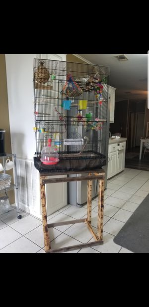 Bird Cage and Stand for Sale in Riverview, FL