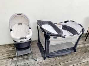 Graco Day2Night Sleeper System (Includes Playard, Bassinet, Changing Table, etc) for Sale in Miami, FL