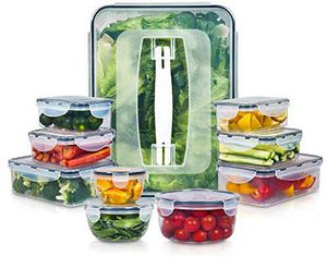 10 Pack Plastic Food Storage Containers for Food Preparation, Lunch and Leftovers for Sale in Grand Prairie, TX