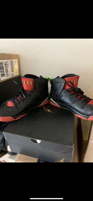 Air jordan 7 Marvin the Martian Sz 12 8.510 w/box Meet On 1st Ave. North and Thomas Street. I'm working security there till 6 AM. for Sale in Seattle, WA