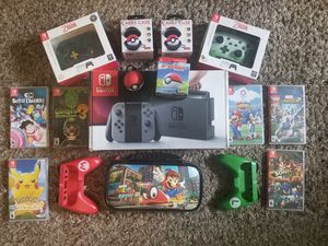"""Nintendo Switch """"SUPER BUNDLE"""" ***BARELY USED*** for Sale in Seattle, WA"""