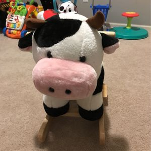 Happy Trails Plush Rocking Cow for Sale in Chagrin Falls, OH
