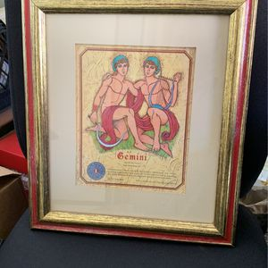 Framed Gemini Print for Sale in Beverly Hills, CA