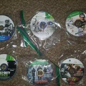 Ps4,xbox 360 and xbox one games $5 each for Sale in Goodyear, AZ