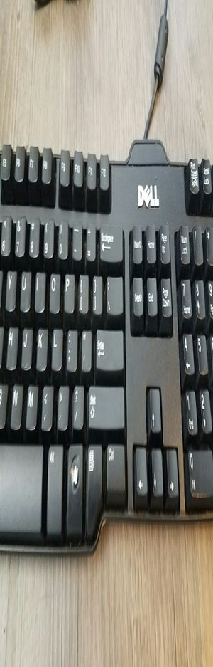 Dell Keyboard, Black, SK-8115 Dell Wired USB QWERTY Keyboard, Black, SK-8115 for Sale in Denver, CO