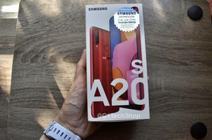 Brand New Samsung Galaxy Red S A20 32 GB for Sale in Alexandria, VA