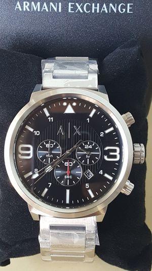 New Authentic Men's Silvertone Armani Exchange Big Face Watch ⌚⌚⌚ for Sale in Montebello, CA