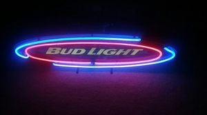 """Bud light neon sign """"surfboard"""" style rare for Sale in Orlando, FL"""