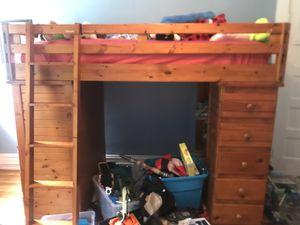 Loft bed - twin for Sale in Richmond, VA