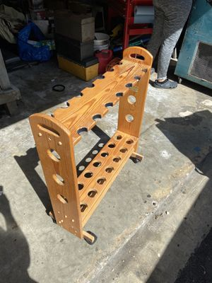 14 fishing rod holder stand caddy for Sale in Miami, FL