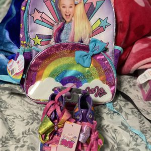 Jojo Siwa Backpack & Shoes Bundel for Sale in Brentwood, MD