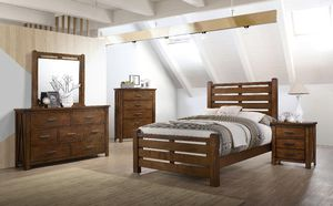 Brand New Solid Wood Bedroom Set! for Sale in Tucson, AZ