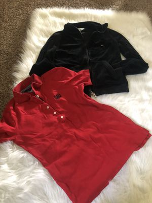 Tommy Hilfiger sweater and shirt size s for Sale in Visalia, CA