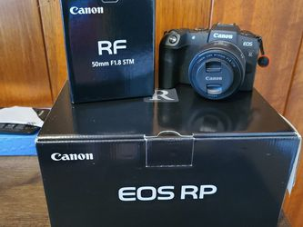 Canon EOS RP & RF 50mm 1.8 STM Used for Sale in Los Angeles,  CA