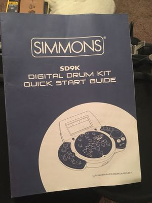 Simmons Electronic Digital Drum Set for Sale in Austin, TX