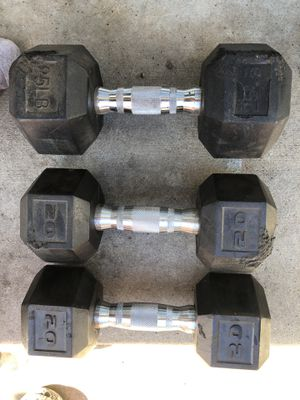 Dumbbell weights for Sale in Baldwin Park, CA