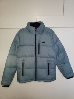 Hollister puffer jacket with hoodie for Sale in Sacramento, CA