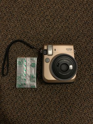 Instax mini 70 Polaroid Camera with Film for Sale in Cleveland, OH