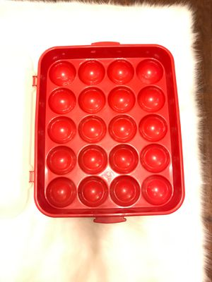 STERLITE Christmas Ornament / Decoration storage container with lid for Sale in Kernersville, NC