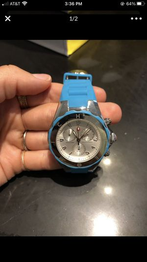 Blue Michele Silicone Watch for Sale in Bethesda, MD