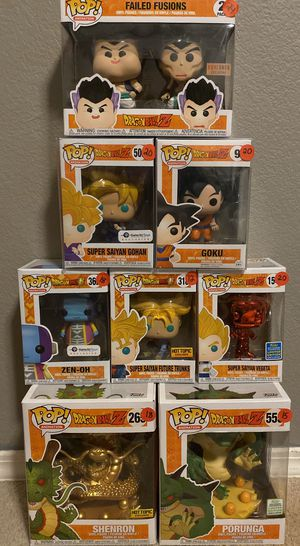 Dragonball Z Exclusive Funko POP Lot!! for Sale in Las Vegas, NV