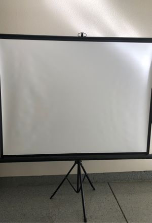 """Like New 75""""+ projector ... used twice for Sale in Belmont, CA"""