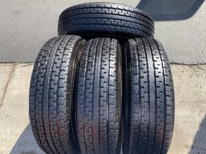 (4) 235/80R16 Mastercraft Trailer tires - $280 for Sale in Garden Grove, CA