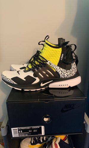 Acronym x Nike presto size 11 for Sale in Reynoldsburg, OH
