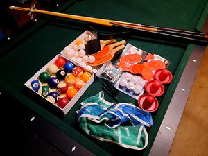 Pool Table/Air Hockey/Ping Pong for Sale in Ontario, CA