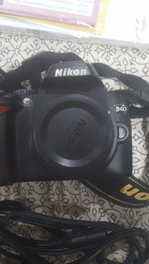 Nikon D40 Body for Sale in Burien, WA
