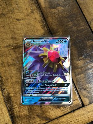 Pokemon Hidden Fates Starmie GX for Sale in Swatara, PA